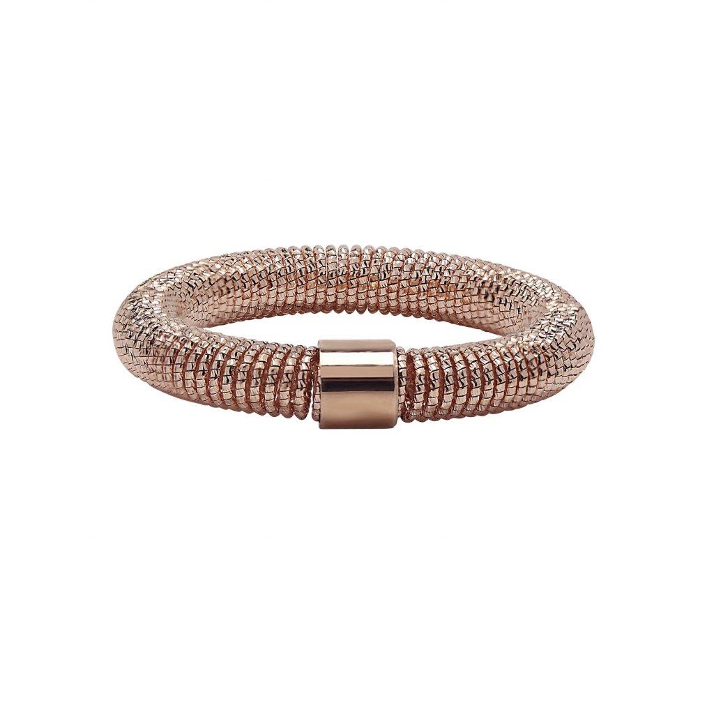Spring Ring In 18K Rose Gold